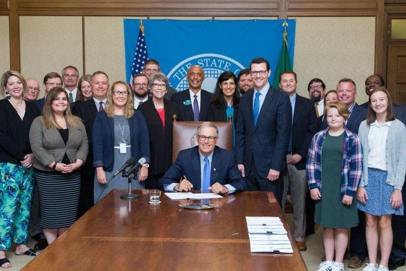 Buildable Lands Bill Signing