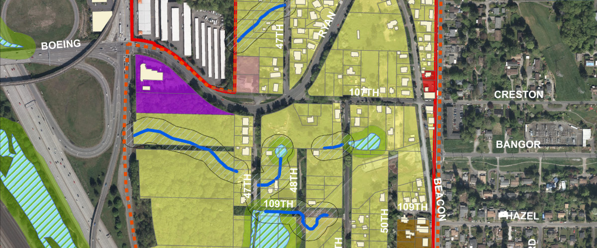 Ryan Hill Land Use Map