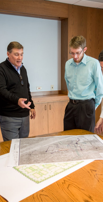 LDC Engineers Discussing Plans
