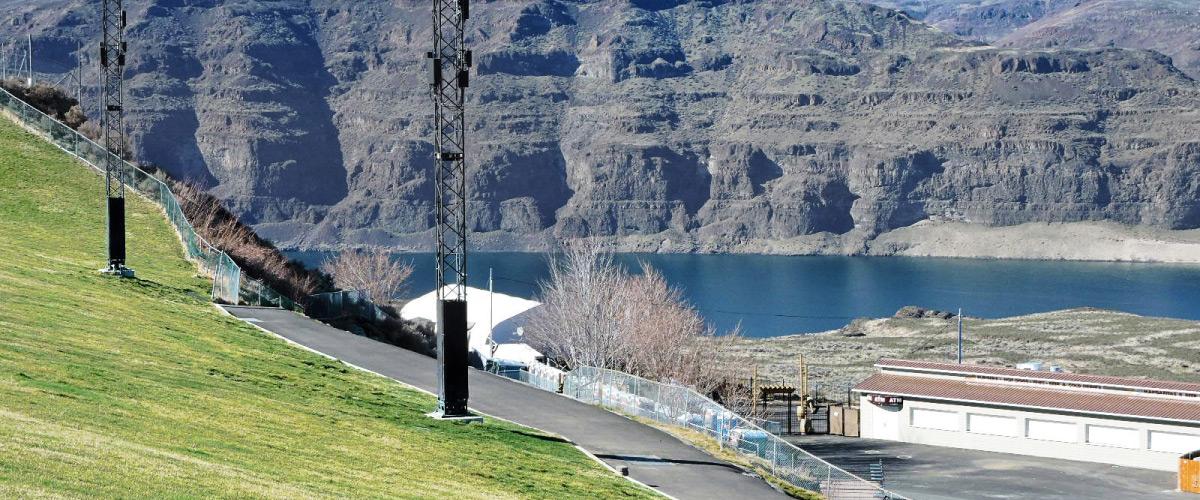Gorge Ampitheater Telecom