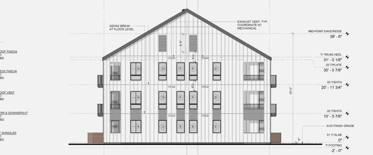 Silver Lake Architectural Plans