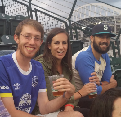 LDC employees at Mariner's game