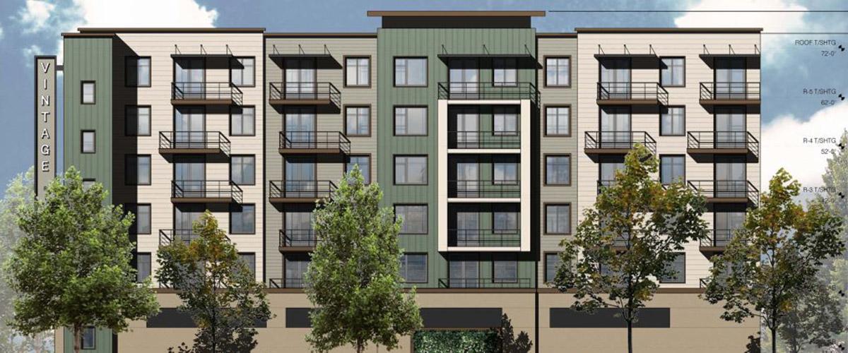 SeaTac Apartments Rendering