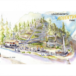 Leavenworth Adventure Park Sketch
