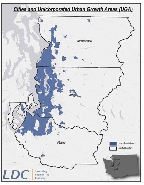 Urban Growth Area Map