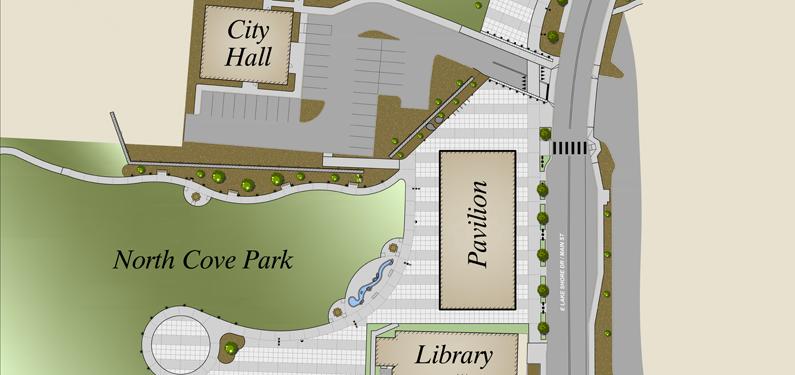 North Cove Design Sketch
