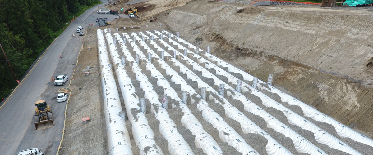 Timbers Plat Pipes Under Construction